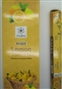 Chakra - Fruit - Lemon- Incense Sticks (Box of 6 packs of 20 sticks)