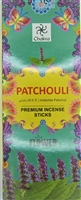 Chakra - Flower -  Patchouli Incense Sticks (Box of 6 packs of 20 sticks)