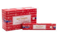 Satya Red Champa 15 gram incense