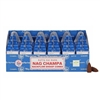 [Backflow] Satya Nag Champa Backflow Dhoop Cones (Box of 6 Packs)