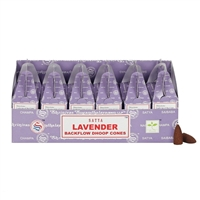 [Backflow] Satya Lavender Backflow Cones (Box of 6 Packs)