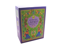 Golden India Lavender High Perfume Cones (10 cones in 12 packets)