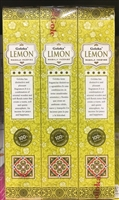 Goloka - Lemon - Masala Incense 15g (12 Packs/Box)