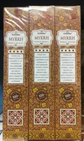 Goloka - Myrrh - Masala Incense 15g (12 Packs/Box)