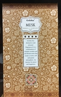 Goloka - Musk - Masala Incense 15g (12 Packs/Box)