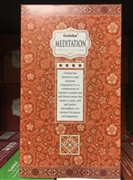 Goloka - Meditation - Masala Incense 15g (12 Packs/Box)