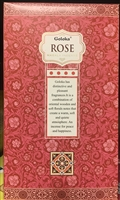 Goloka - Rose - Masala Incense 15g (12 Packs/Box)