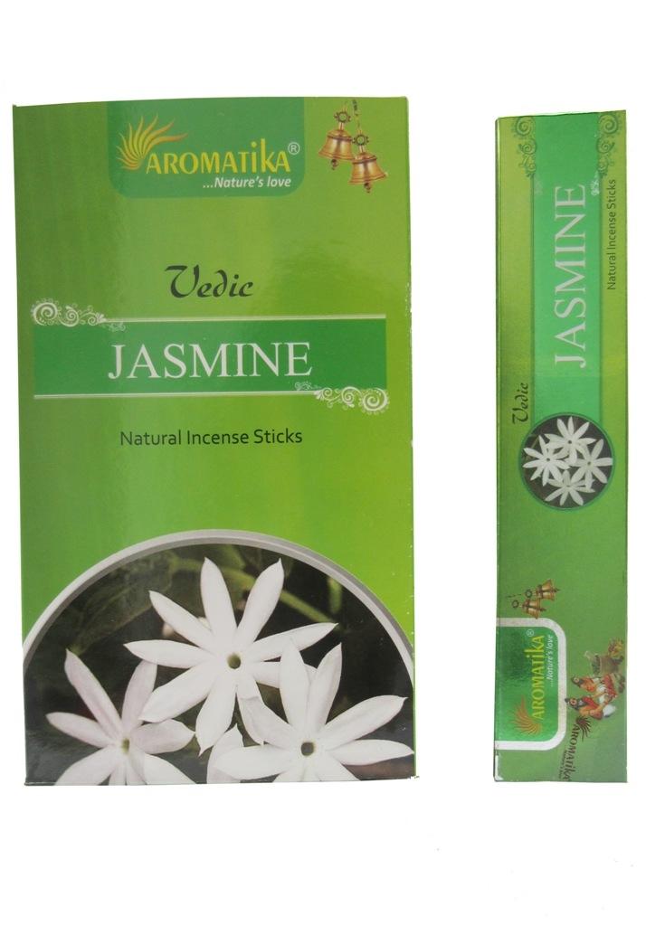Aromatika Vedic Jasmine 15 Grams 12 Box