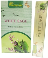 Aromatika Vedic White Sage 15 grams (12 / Box)