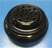 Brass & Wood Black Charcoal/Incense Burner