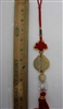 "Double fish hanging ornament 11"" Model CD0008"