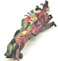 "MIX - Green Eucalyptus with Red Eucalyptus and Red Sage Smudge Sticks approximately 6"" (Single)"