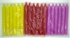 "6"" Inch Household Taper Candle (36/Box) [Select Color]"