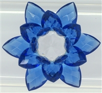 Crystal Lotus  Flower - 20 mm (Select Color)