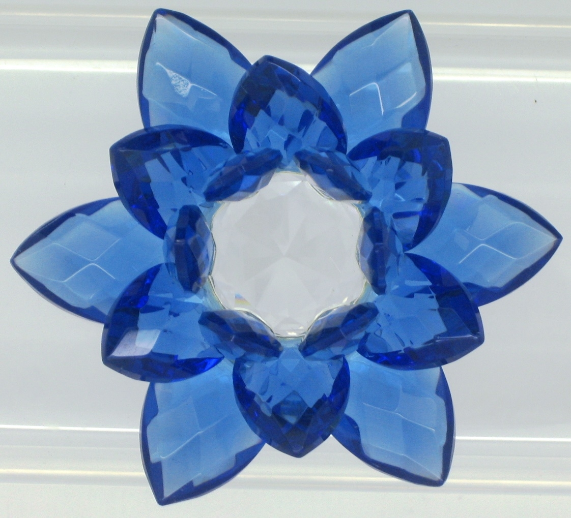 Crystal Lotus Flower 20 Mm Select Color