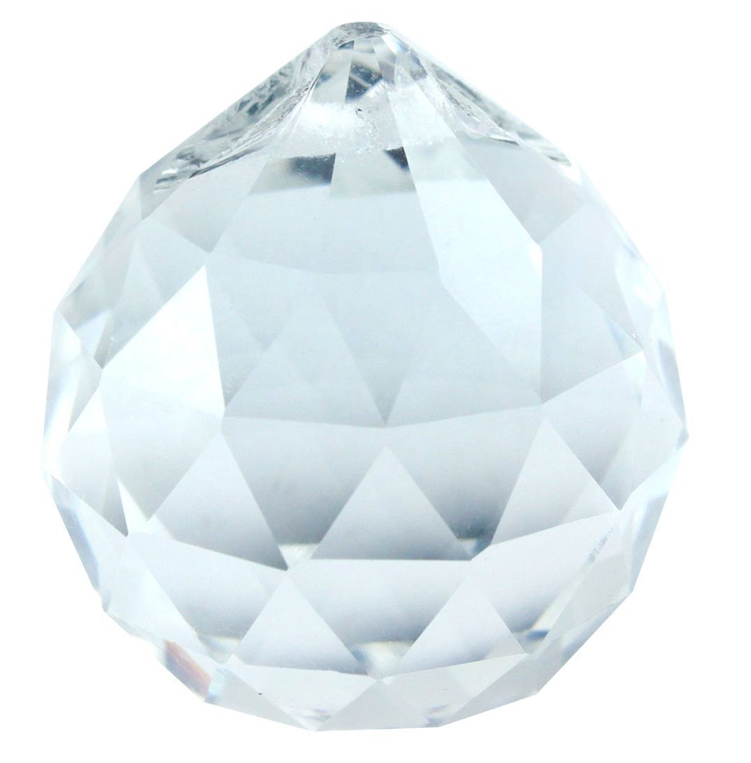 feng shui crystal prism 30mm. Black Bedroom Furniture Sets. Home Design Ideas