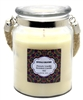 Crystalo Creations French Vanilla Scented Candle with Rope Handle, 18 Ounce