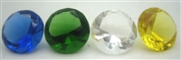Diamond Paperweight Crystal 30mm - Select Color