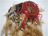 Dream Catcher - 11cm (By Dozen, Assorted Colors)