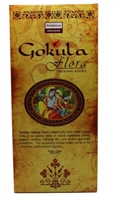 Darshan Gokula Flora Incense -14 Sticks pack - (6/box)