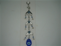 Three pyramid Evil Eye Amulet