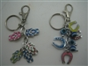 Metallic Colored Evil Eye Key Chain - 3.5''