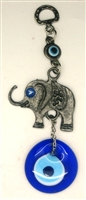 Elephant Evil Eye Key Chain - 5.5''