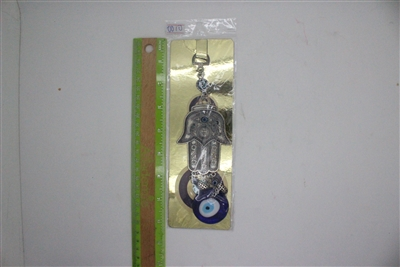 "Evil Eye hamsa Pendant/Charm 8"" Model EE0010"