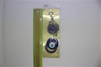 "Evil Eye single owl Pendant/Charm 7"" Model EE0011"