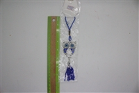 "Evil Eye owl outline Pendant/Charm 7"" Model EE0018"