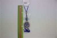 "Evil Eye owl Pendant/Charm 7"" Model EE0019"