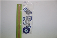 "Evil Eye owl Pendant/Charm 8"" Model EE0022"