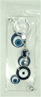 Evil Eye double eyes Pendant/Charm 4.25'' Model EE0068