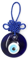 Evil Eye with Blue Mystic Knot Amulet/Charm