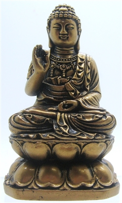 Siddh 196 Rtha Gautama Buddha Sitting In Lotus Flower 4