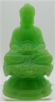 Siddhārtha Gautama Buddha Sitting in Lotus Flower - 4.5'' (Dhyana or Samadhi Mudra)