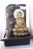 Golden Buddha cascading fountain no arch  Model- 2090