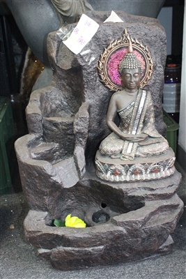 Buddah w/ green hologram looking design Model-3060