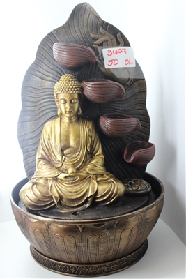 Golden Buddha fountain Model-3627