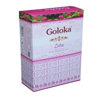 Goloka Nag Champa Lotus15 grams ( 12/Box)