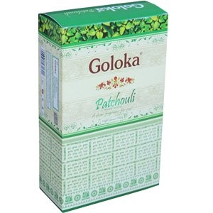 Goloka Nag Champa Patchouli 15 grams ( 12/Box)