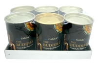 Goloka The Buddha Backflow Incense Cones (24 cones x 6 cans)
