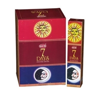 HEM 7 DAYS INCENSE - 35 STICKS PACK (12/BOX)