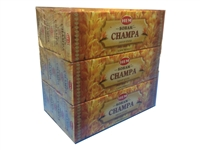 HEM SOHAM CHAMPA DHOOP - 14 STICKS PACK (12/BOX)