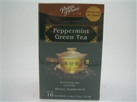 Prince of Peace Herbal All Natural Peppermint Green Tea