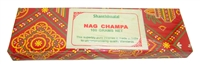 Shanthimalai Nag Champa Incense Sticks - 100 Gram Box