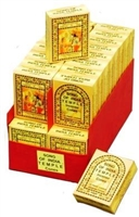 India Temple Incense Cones (Case of 36)