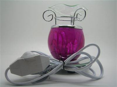 Electric Aroma Lamp Oil Warmer Model LW-001 (Select Color)