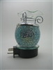 Plug In Mosaic Crackle Glass Oil Warmer