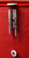 Silver feng shui chimes MB0110
